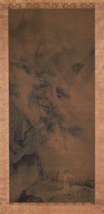 夏景山水図(山梨県久遠寺・東京国立博物館寄託)